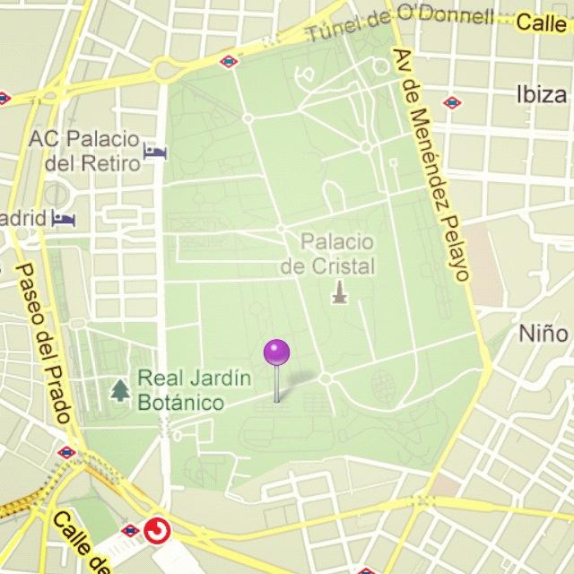 Jardín de los Almendros. Parque del Retiro.